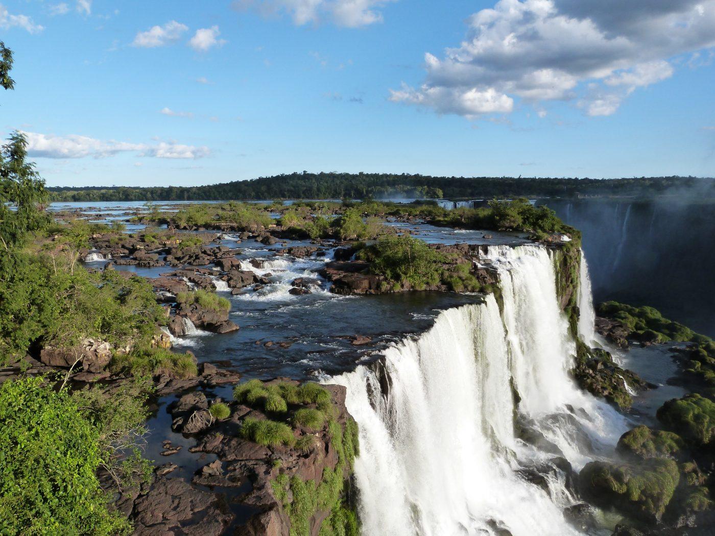 """Falls Of Foz De Iguazu  The """"Cataratas De Iguazu"""""""