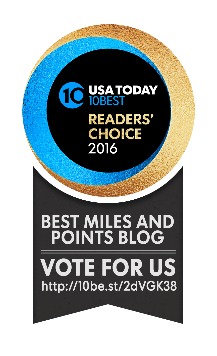 VOTE FOR MILES MOMMA – USA TODAY 10 BEST MILES & POINTS BLOG