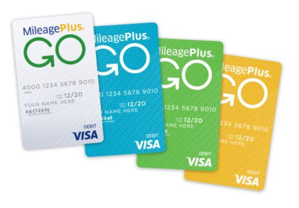 United MileagePlus Go Visa Prepaid Card