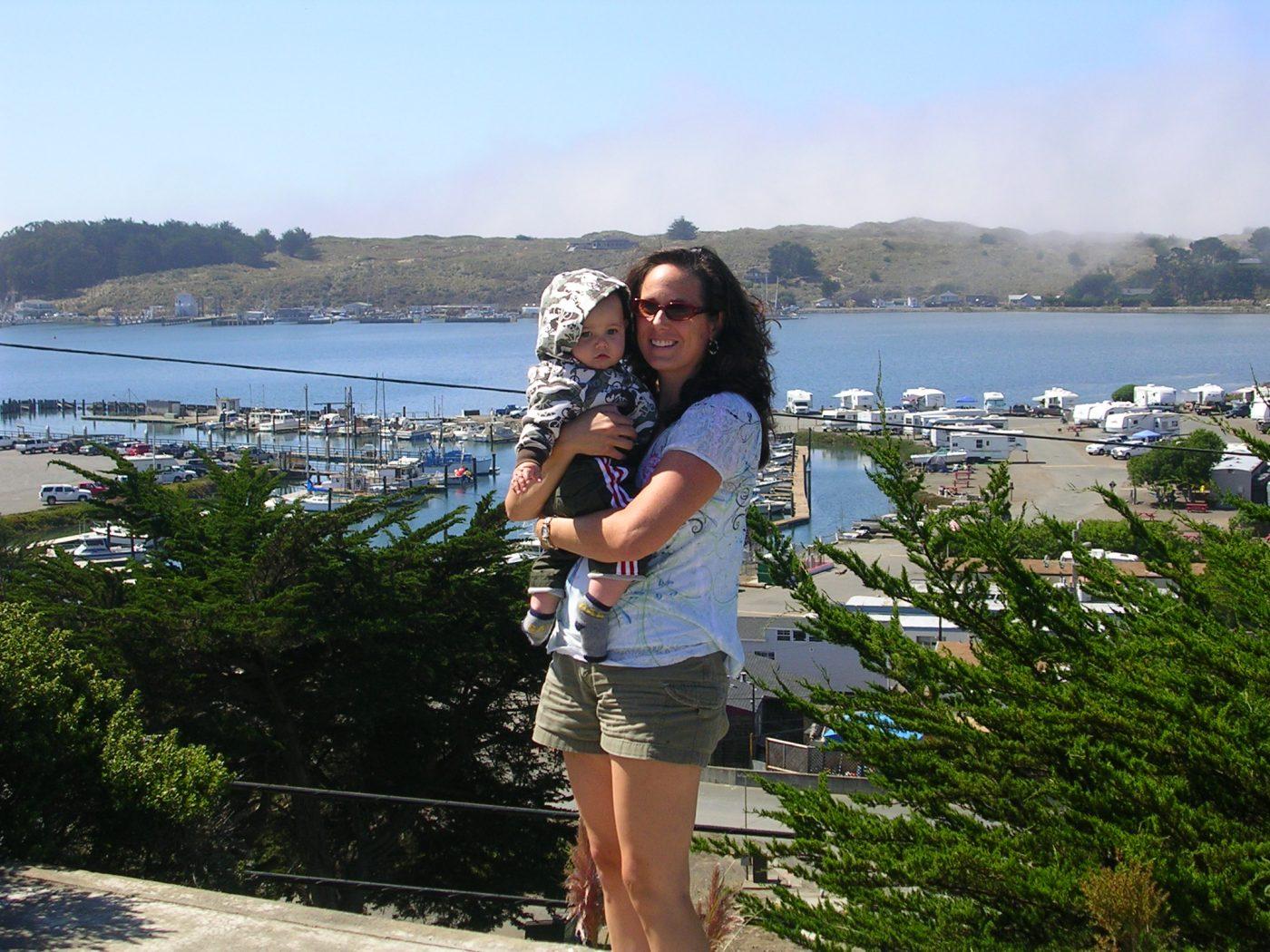 Half Moon Bay, California - Case Family