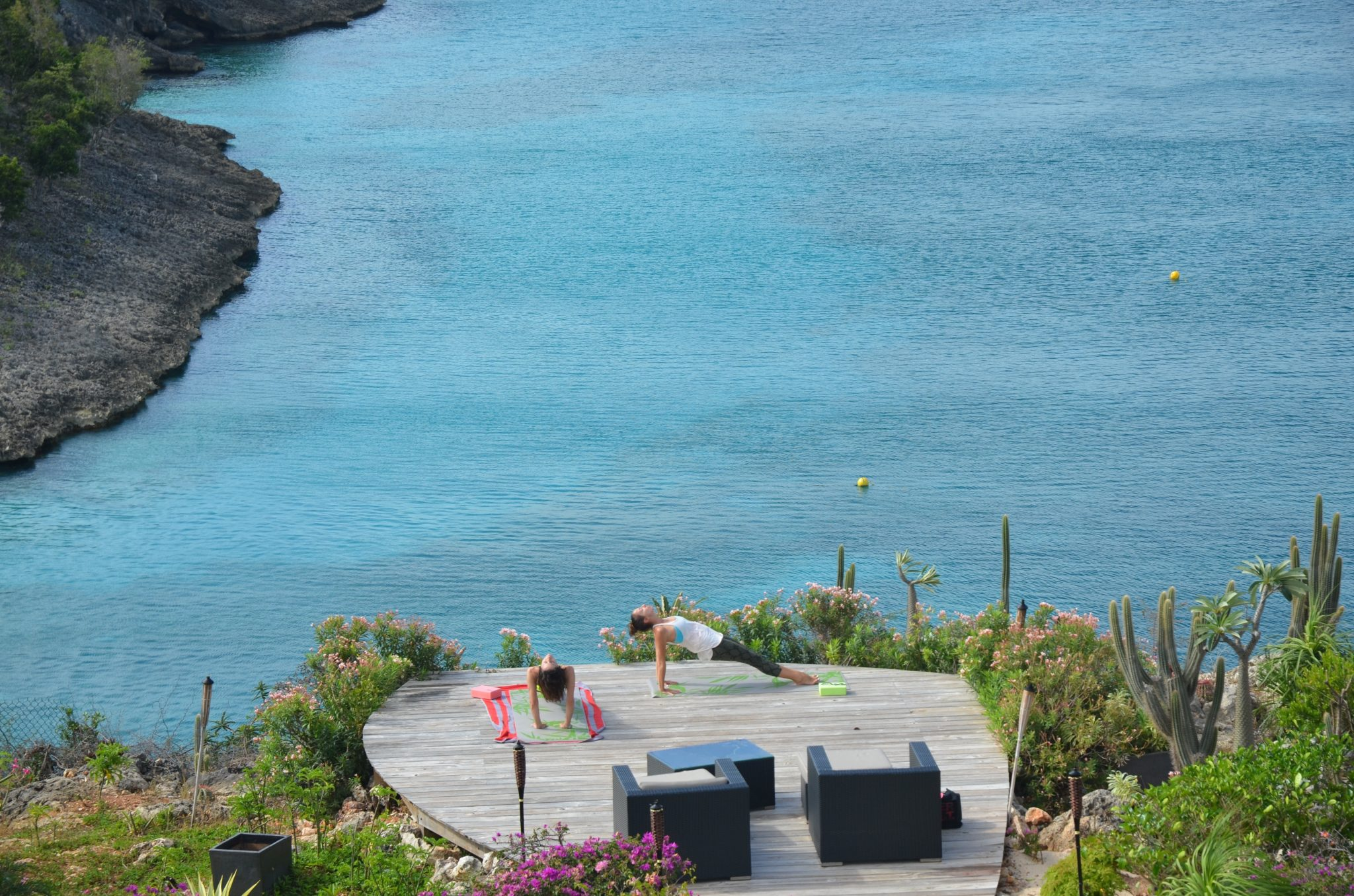 Anguilla, Caribbean - Yoga