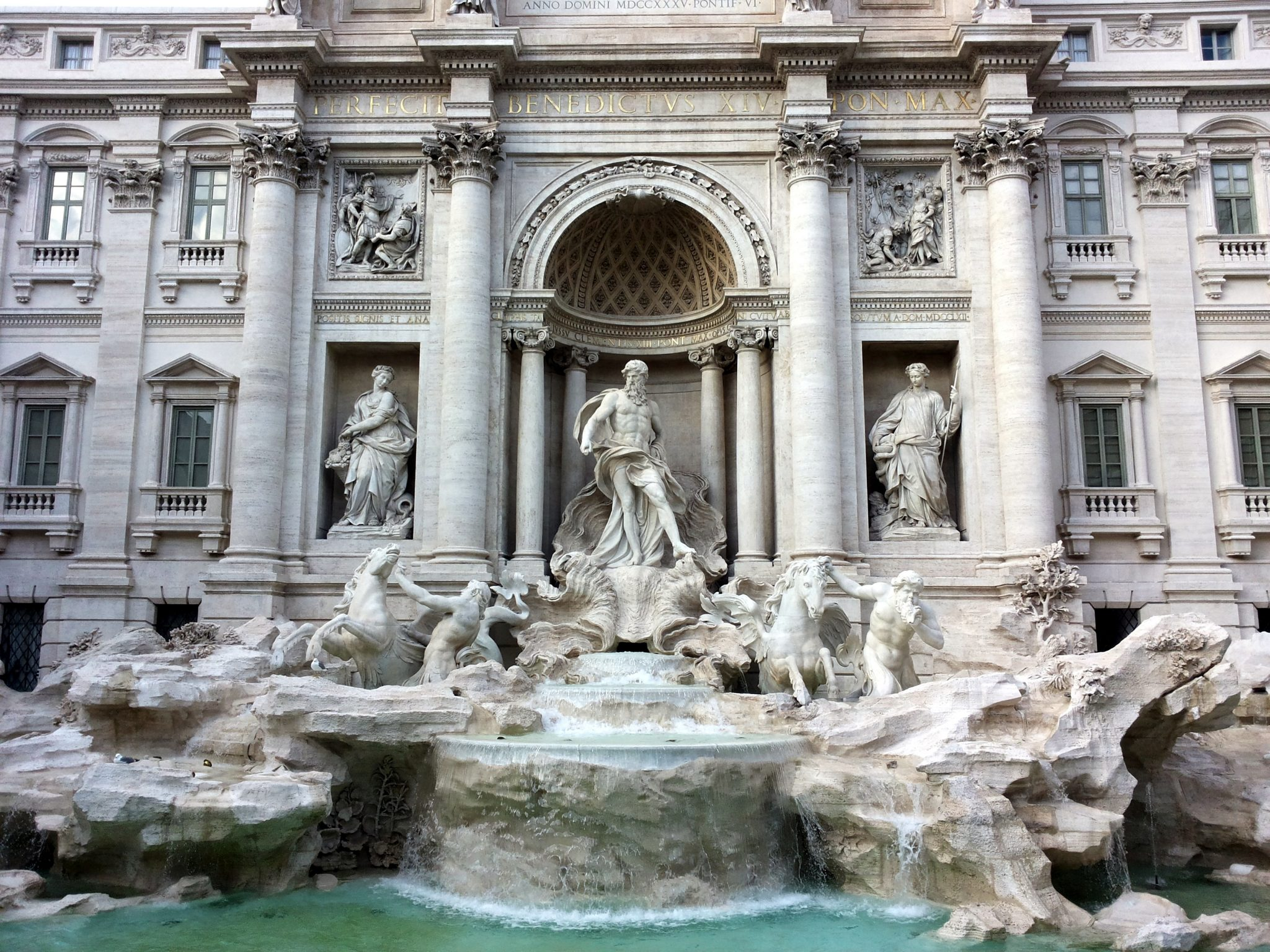 Trevi Fountain, Rome Italy