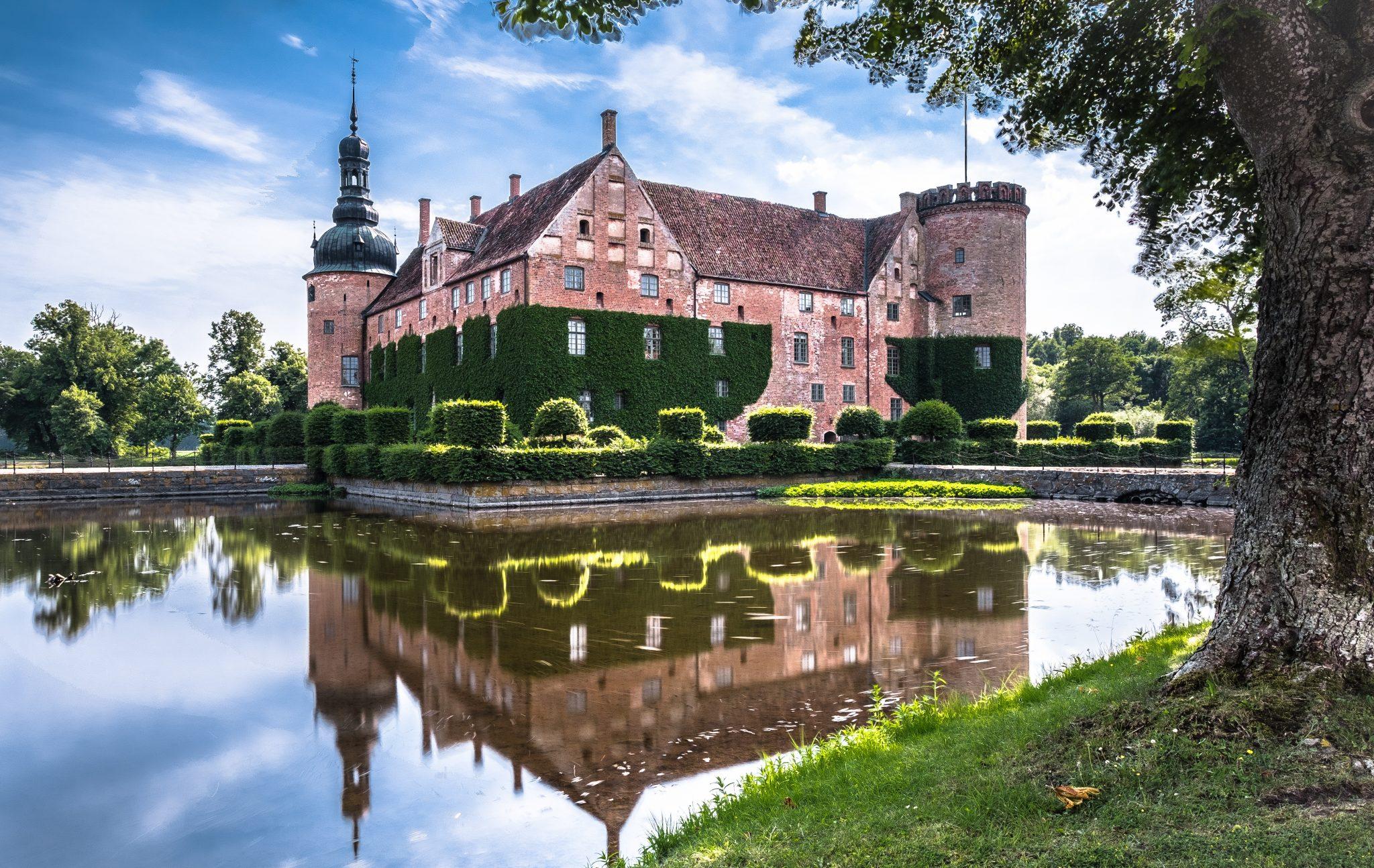 Sweden - Vittsklöve castle, Sweden