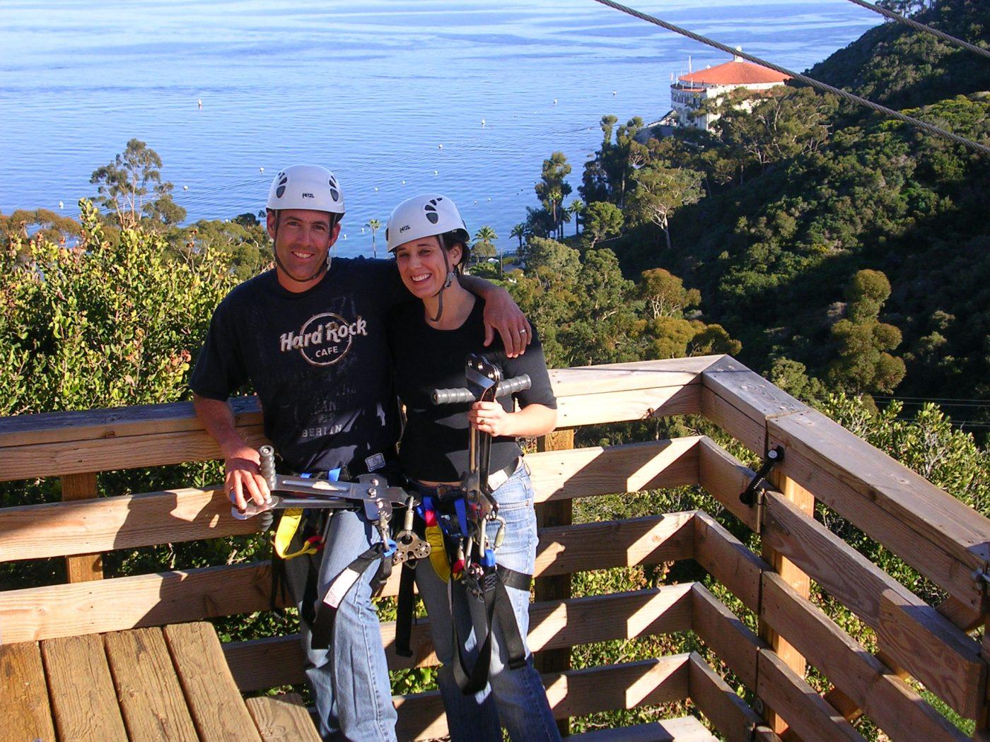 Zip Lining, Catalina Island