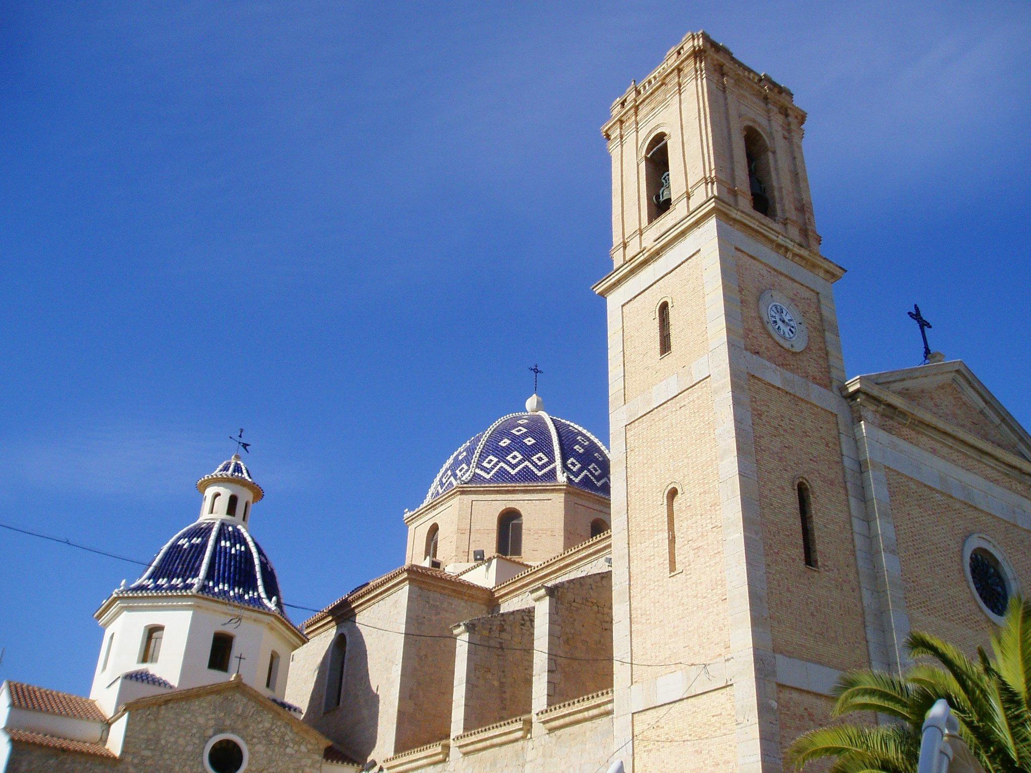 Altea-church, Spain