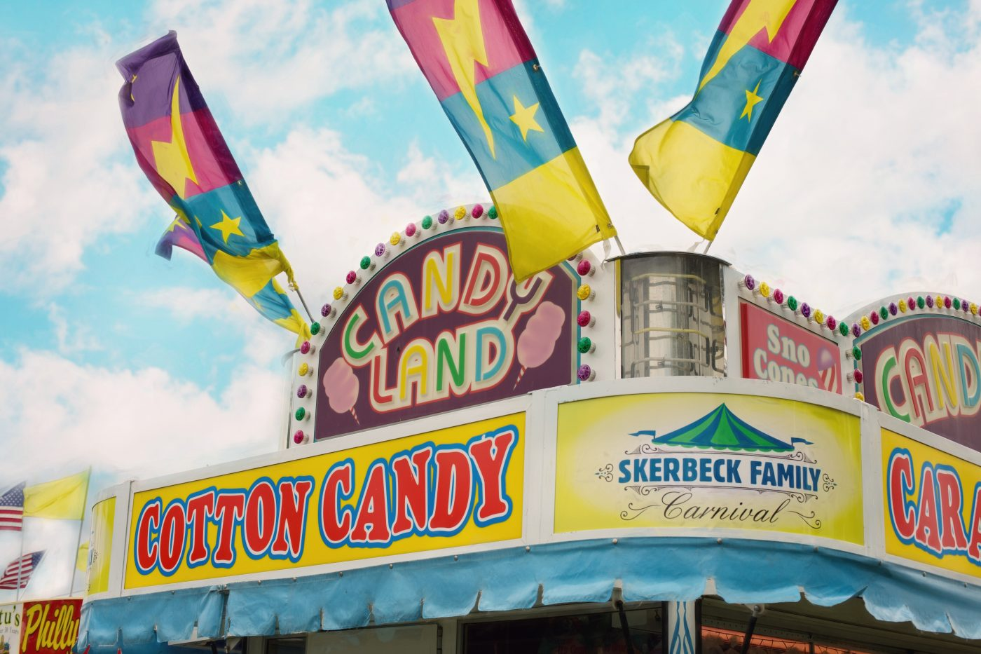 carnival - cotton -candy