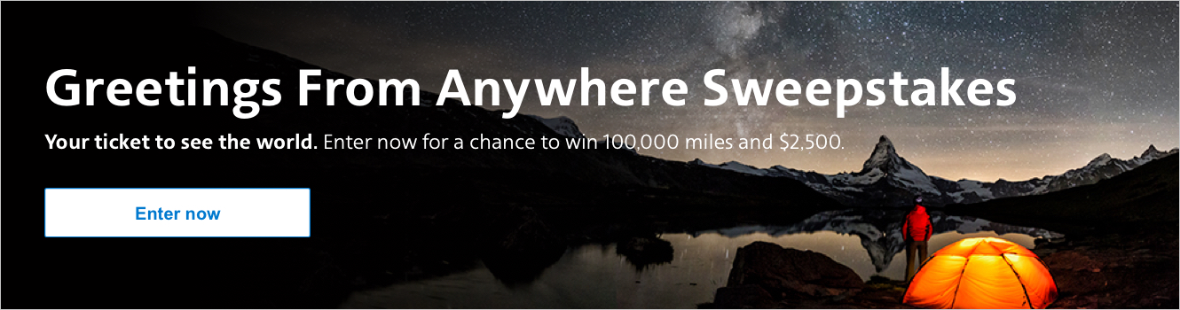 AAdvantage eShopping Greetings from Anywhere Sweepstakes