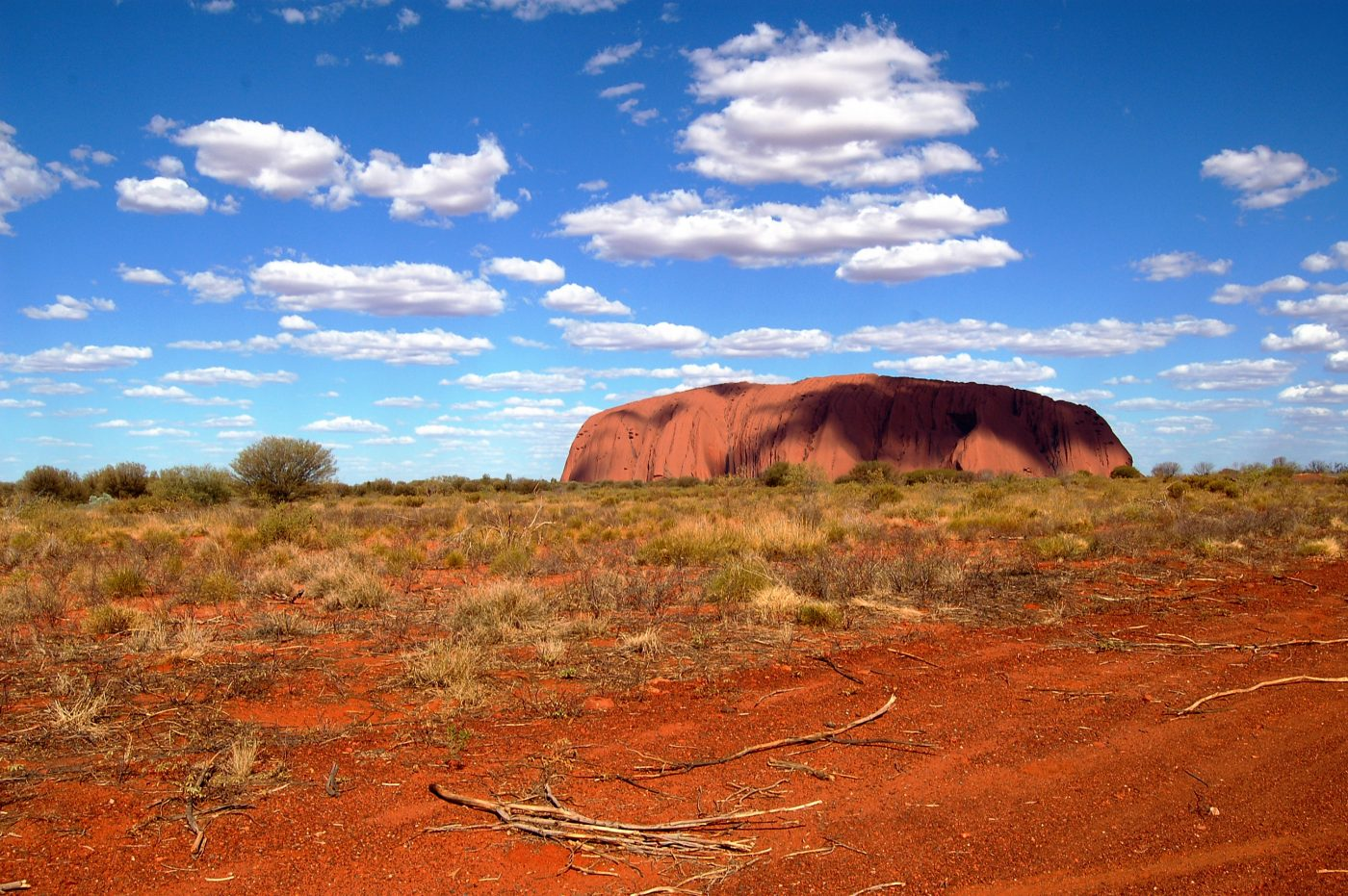 Ayers Rock Mystery in the Australian Desert