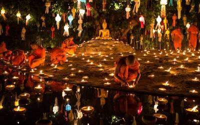 Ko Chang, Thailand  Water Festival of Loi Kathong