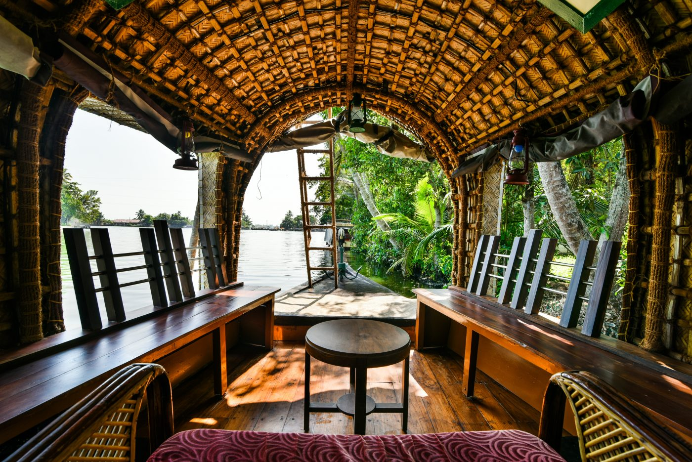 Exploring the backwaters of Kerala