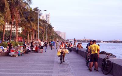Vacationing in Manila, Philippines