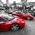 Fancy Ferrari's in Monte Carlo