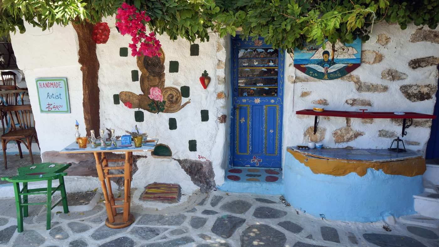Amorgos, on of the most beautiful Greek islands