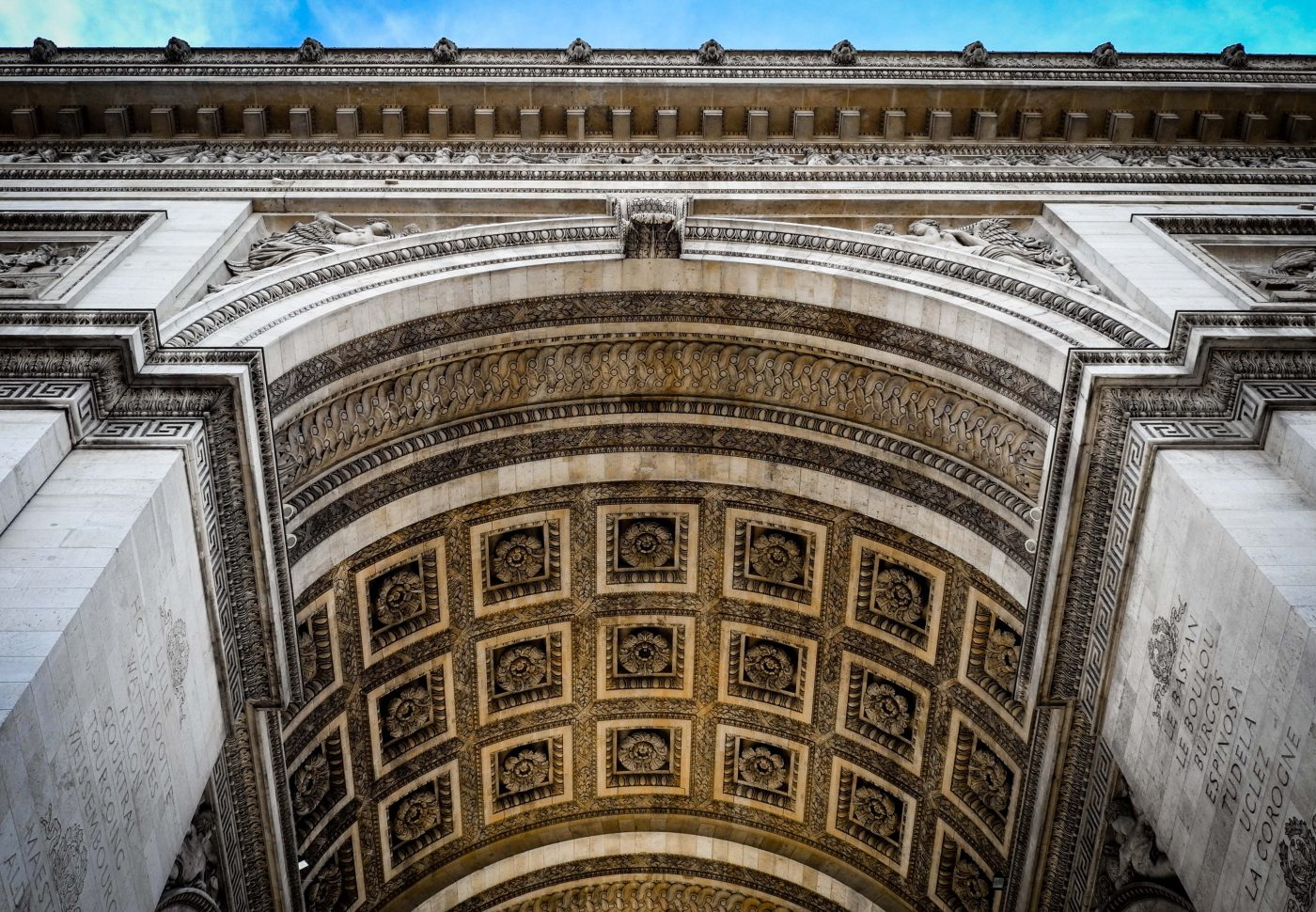 Arch Of Triupmh – Paris