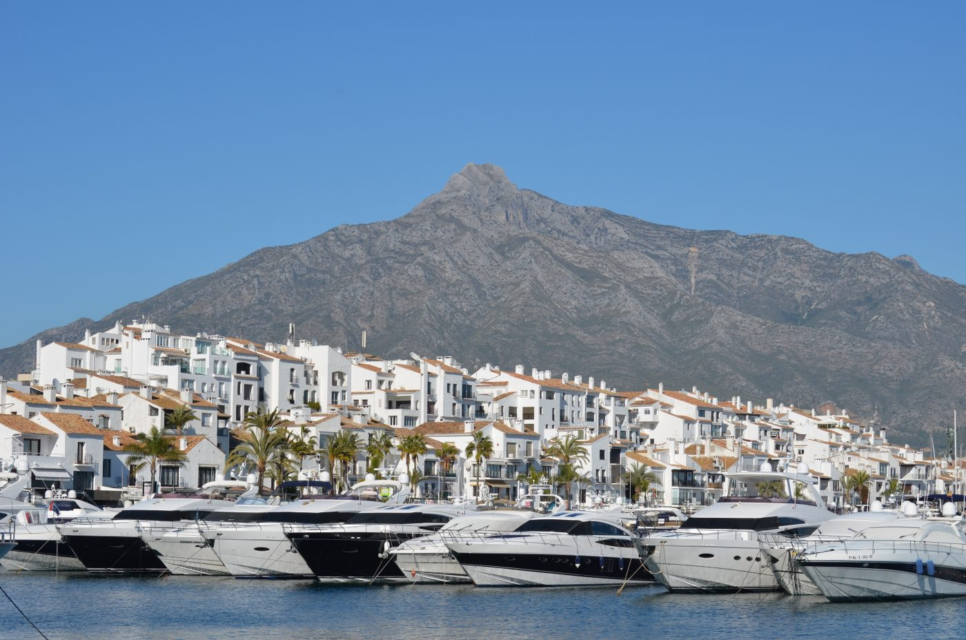 Beach front Resorts of the Costa del Sol