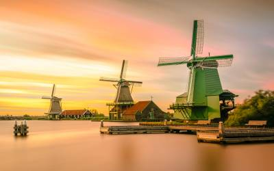 Exploring Holand's Windmills, Tulips and Wooden Shoes