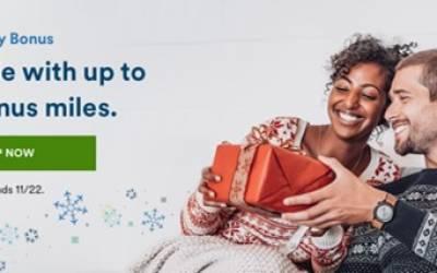 Alaska Mileage Plan Shopping Holiday Bonus