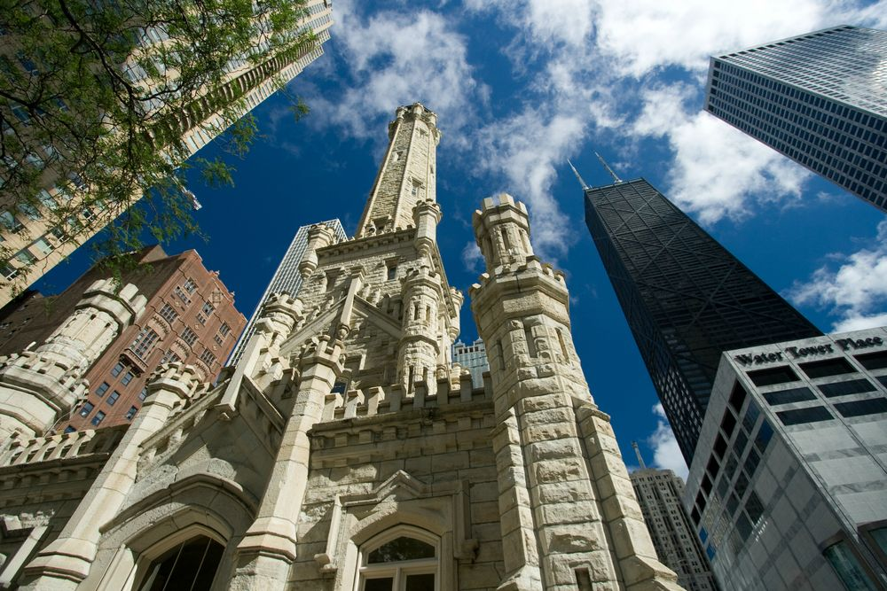 Chicago Is Home To The Historic Water Tower