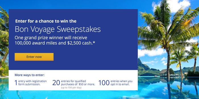 United MileagePlus Shopping Sweepstakes – More Mile More Memories