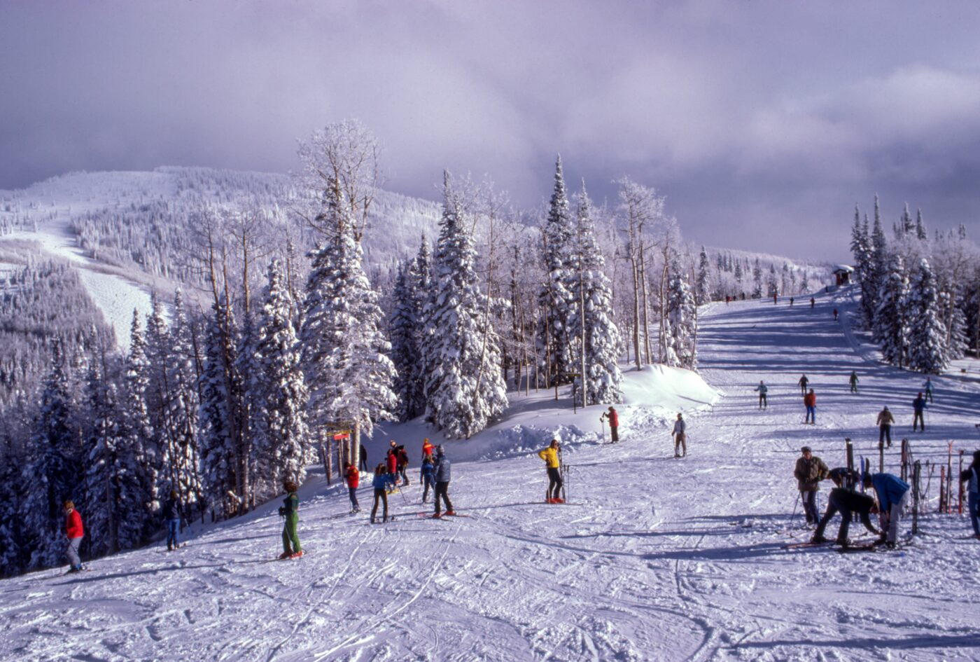 Breckenridge Nordic skiing Colorado Rocky mountains