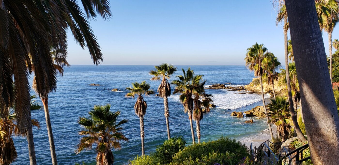 San Diego California beach and hiking vacation